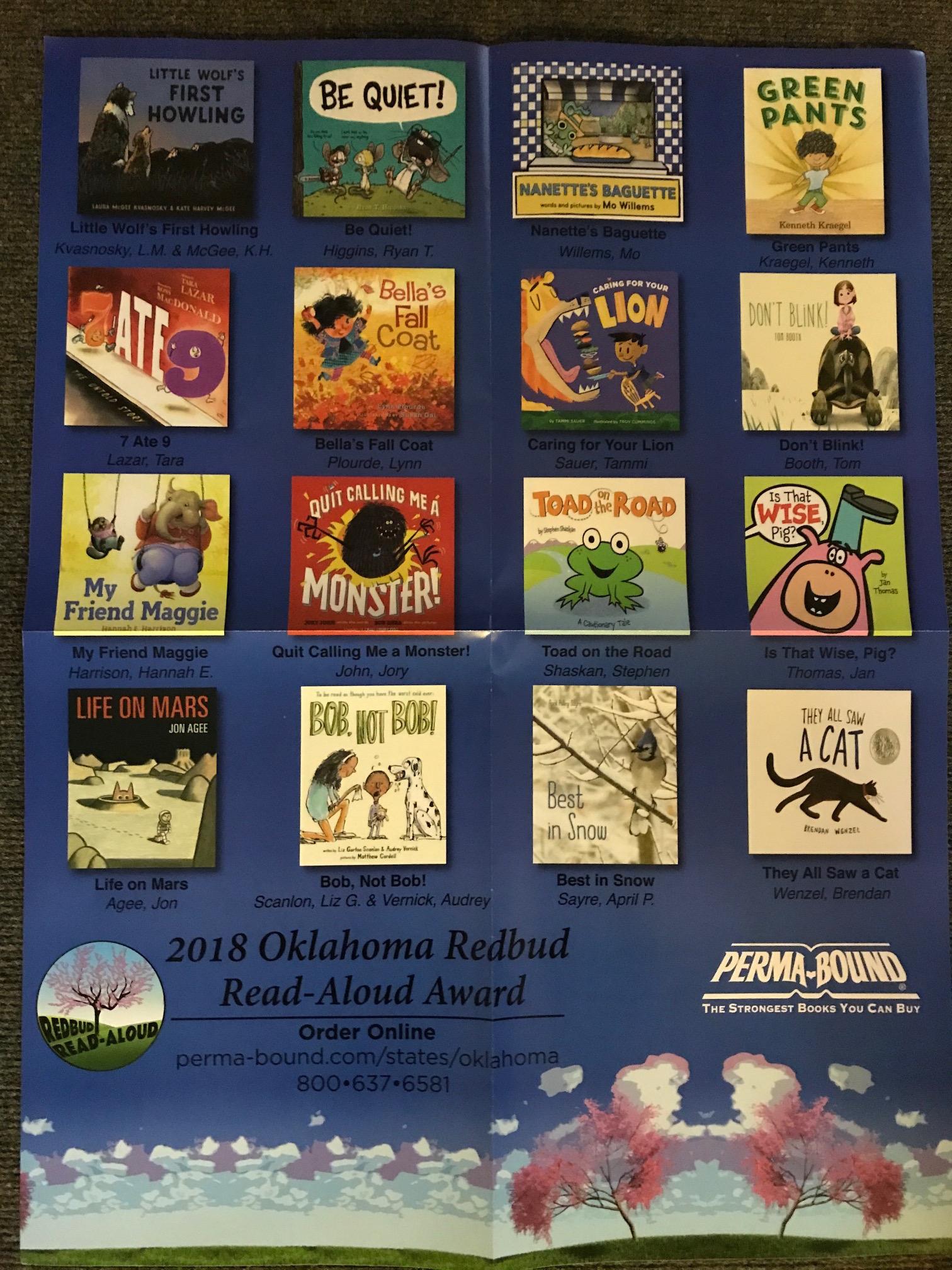 2018 Redbud Poster