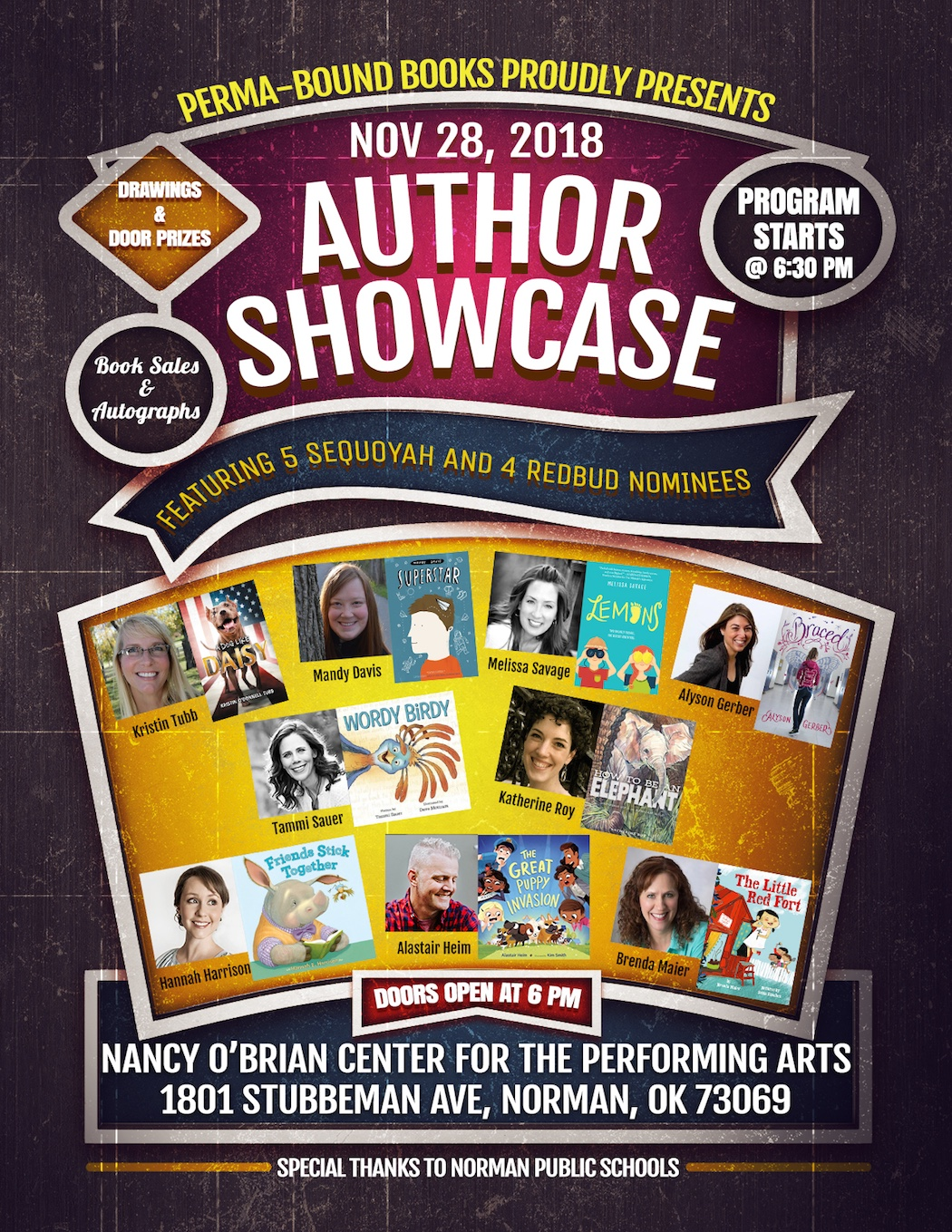 Nine Authors in Norman!