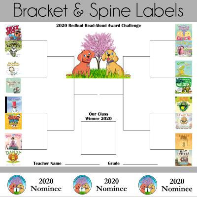 Redbud Bracket and Spine Labels