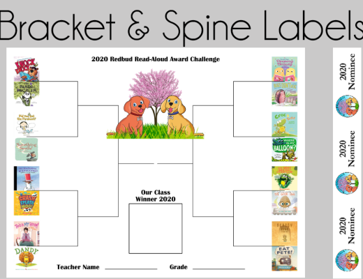 Redbud Read-Aloud Bracket and Spine Labels