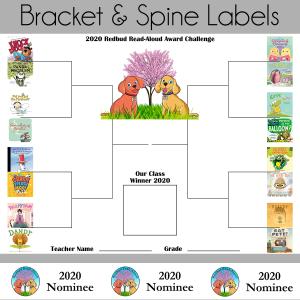 2020 Redbud Bracket and Spine Labels