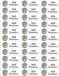 2020 Redbud Read-Aloud Award Nominee Spine Labels