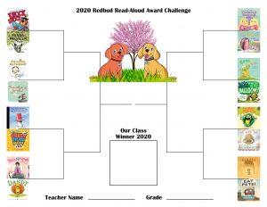 2020 Redbud Read-Aloud Award Challenge Bracket