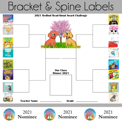 2021 Redbud Bracket and Spine Labels