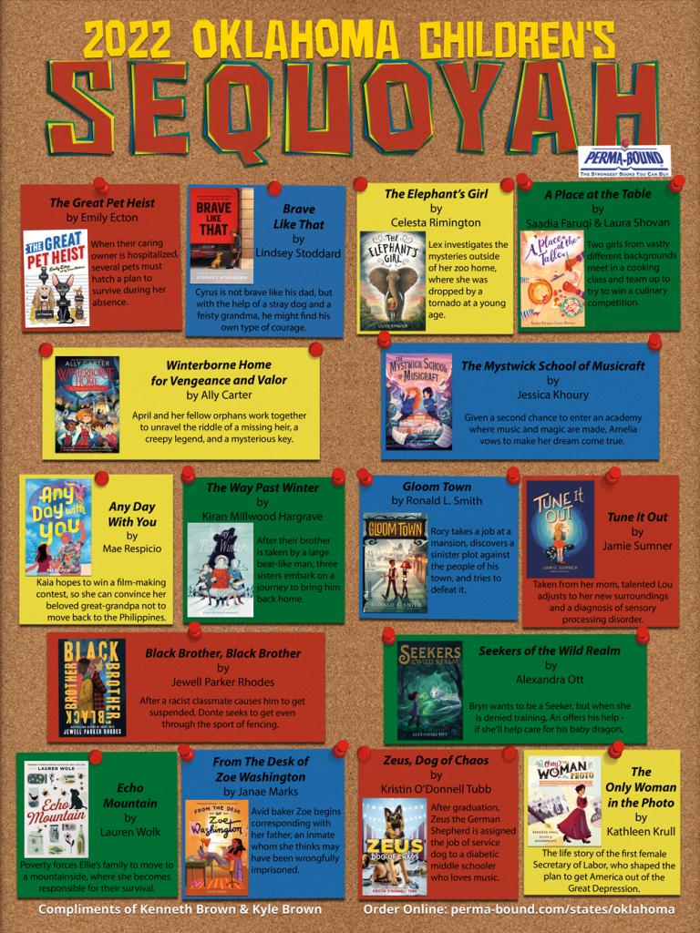 2022 Sequoyah Childrens Poster