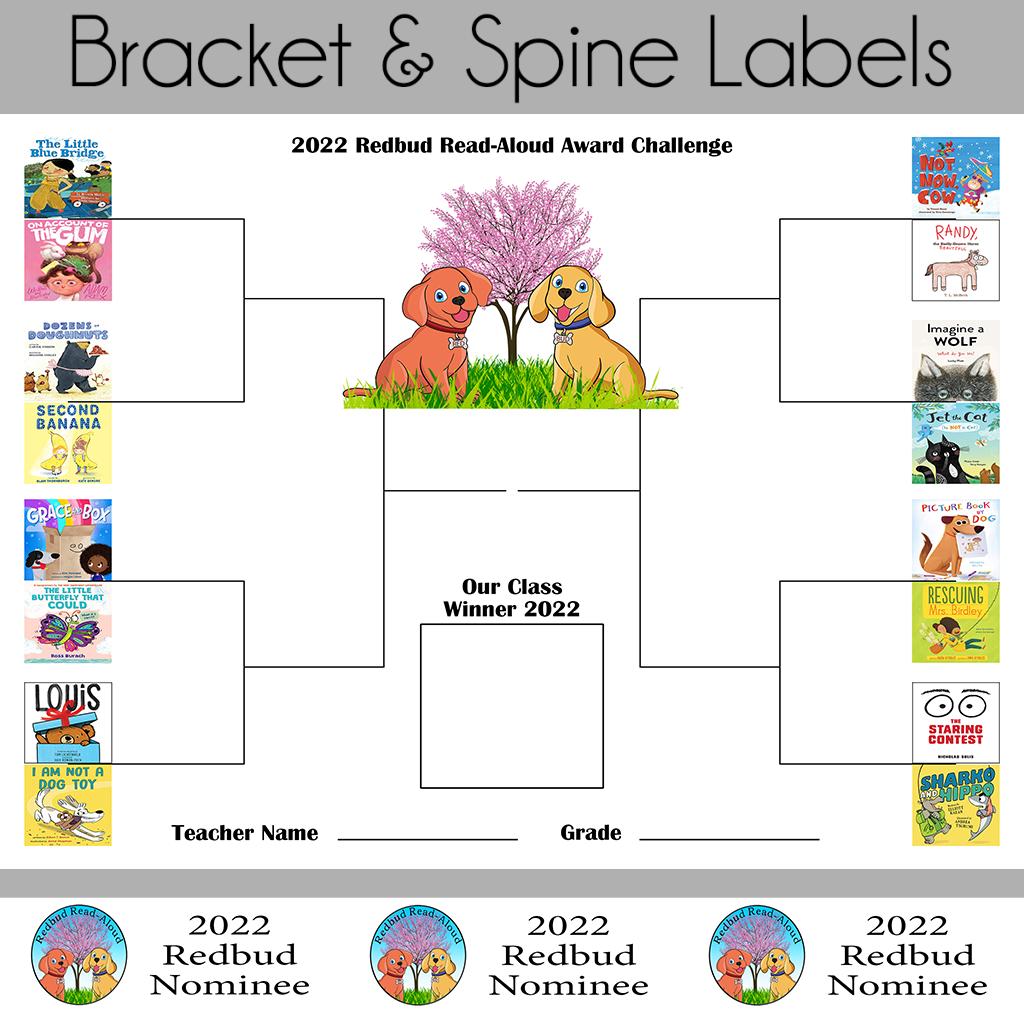 2022 Bracket and Spine Labels